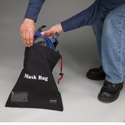 Fleece Lined Respirator Carry Bags Image