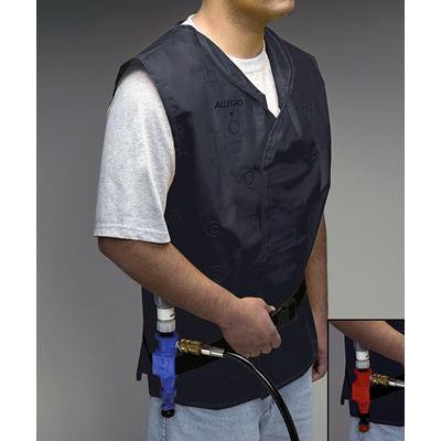 Compressed Air Vortex Cooling Vest