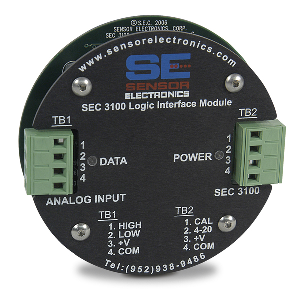 SEC 3100 Logic Input Module from Sensor Electronics
