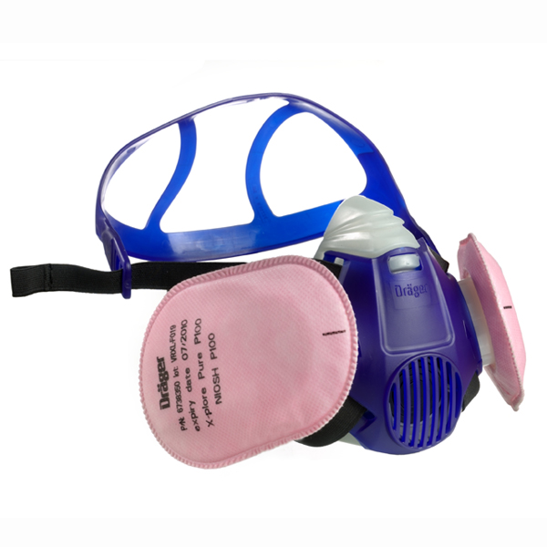 Half Face Respirator X-plore 3300/3500 from Draeger Image