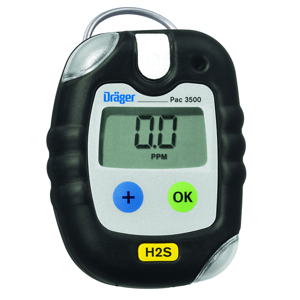 Pac 3500 Gas Detectors for CO, H2S & O2 from Draeger Image