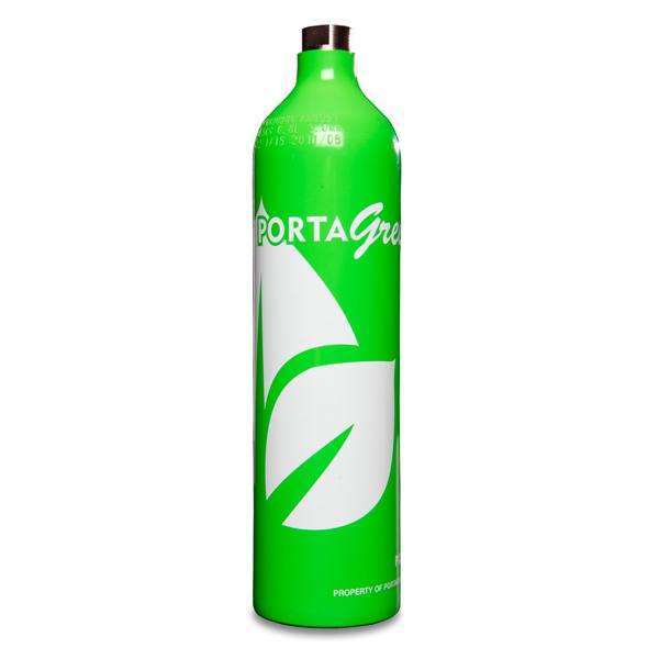 58L Portagreen Gas Cylinder
