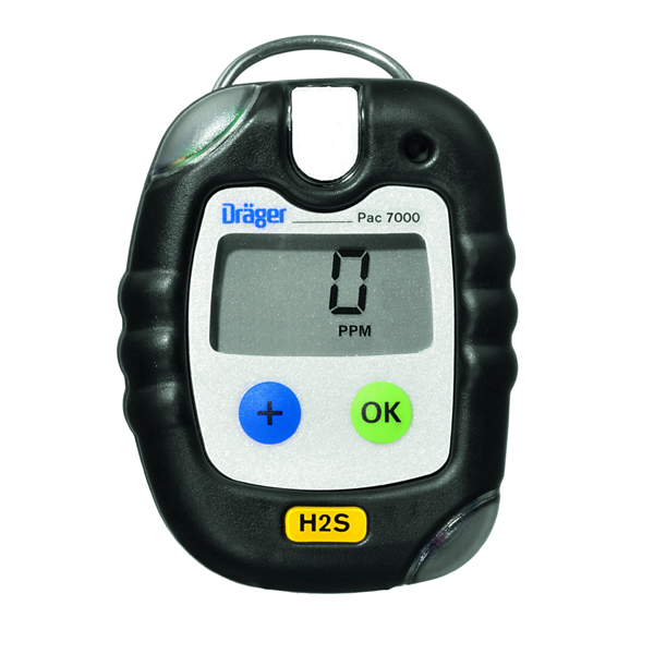 Pac 7000 Single Gas Detectors from Draeger Image