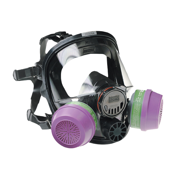 7600 Series Silicone Full Face Respirator from Honeywell Image