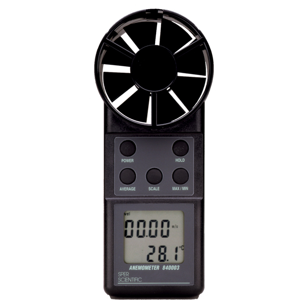 Anemometer/Thermometer