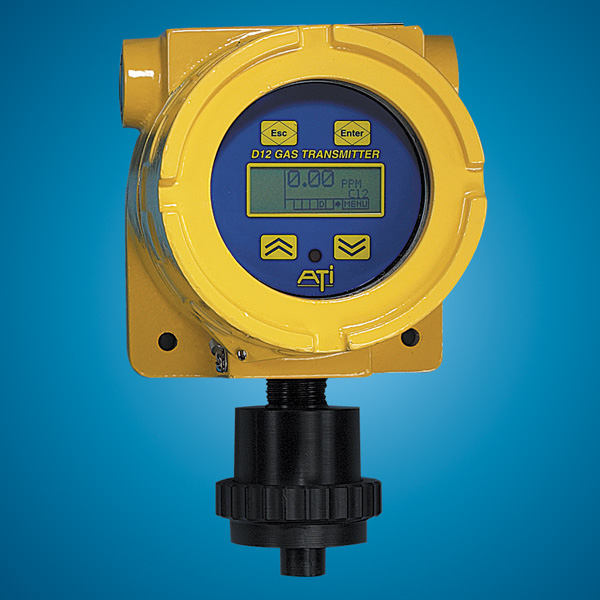 Series D12 Digital Gas Detection Transmitter from ATI Image