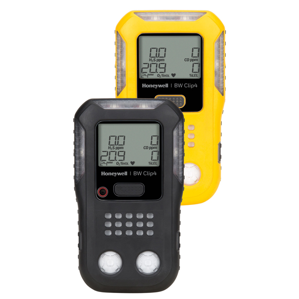 Honeywell BW Clip4 Multi Gas Detector