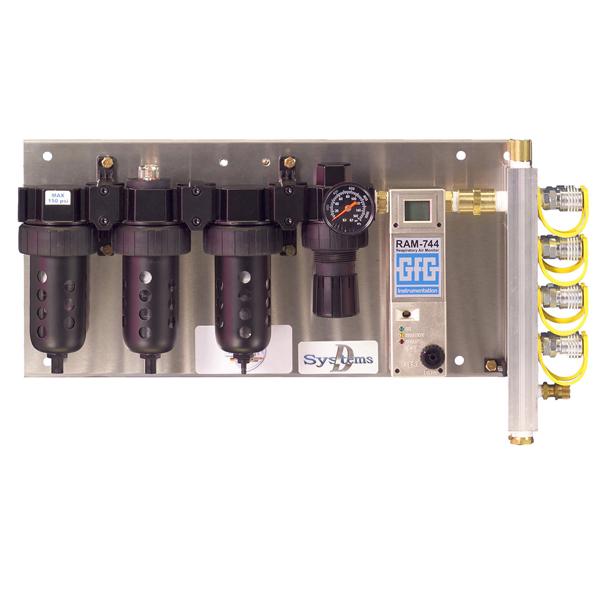 RAM 744 Grade D Breathing Air System