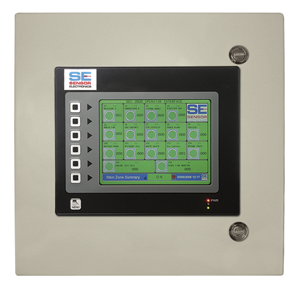 SEC 3500 HMI Operator Interface from Sensor Electronics Image