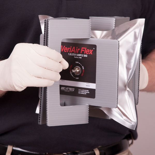 VeriAir Flex Manual Inflating Sample Bags