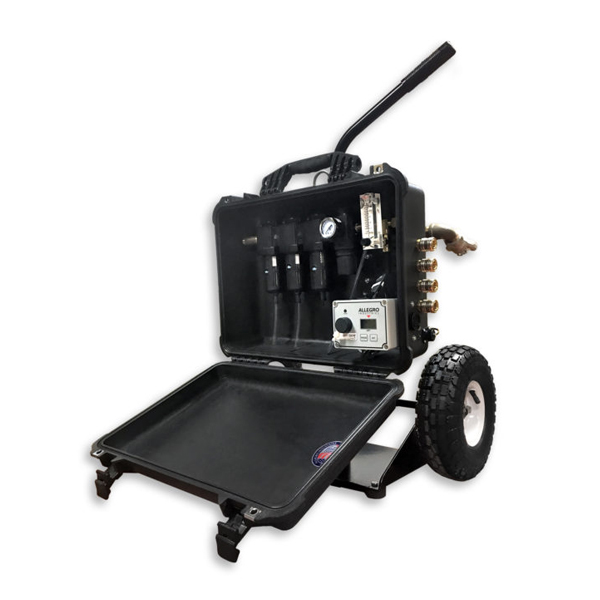 Grade D Air Filtration Panel Cart from Allegro Safety Image
