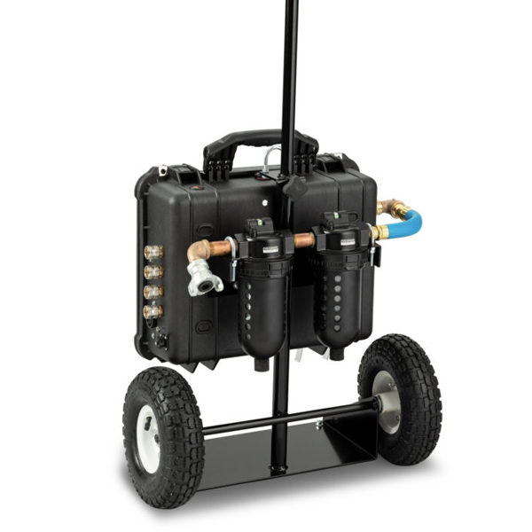 Breathing Air Filtration Cart