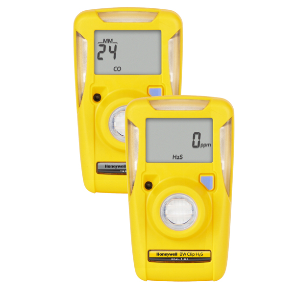 BW Clip Single gas detector for CO, H2S, O2 & SO2