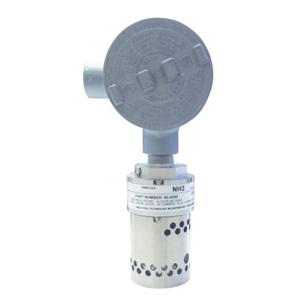 Ammonia Gas Detector - E12-15 Ammonia Fixed Point Gas Detector