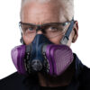 GVS Half Mask Respirator with acid gas cartridge