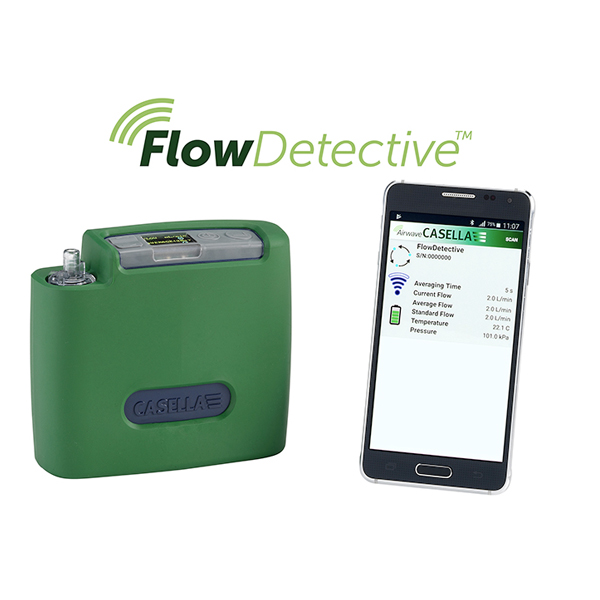 Flow Detective Digital Air Flow Meter Image