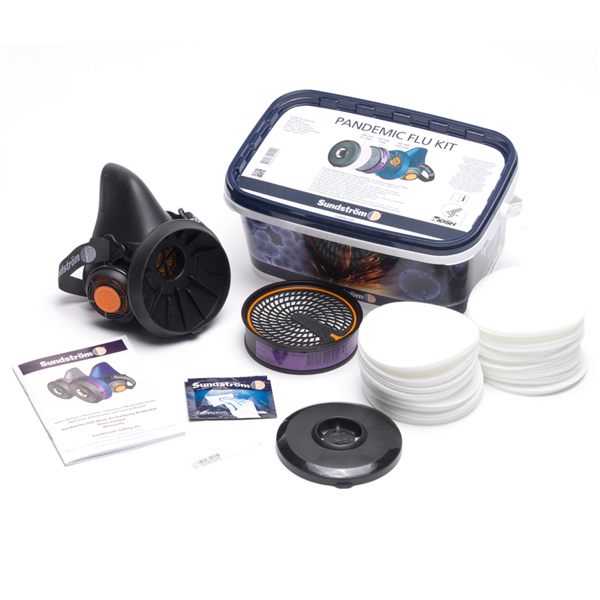 Pandemic Respirator Flu Kit