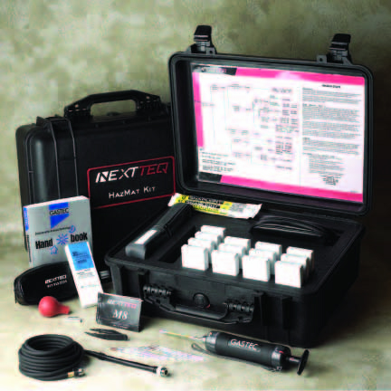 GasTec Colorimetric Tube HazMat Detector Kit
