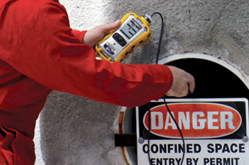 MultiRae used for Confined Space Detection