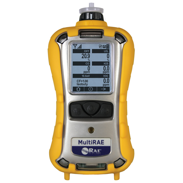 MultiRae 1 to 6 Gas Detector with PID