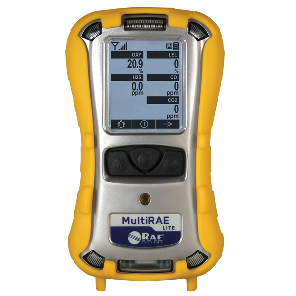 Rae Systems MultiRae Lite Wireless Portable Multi Gas Detector Image