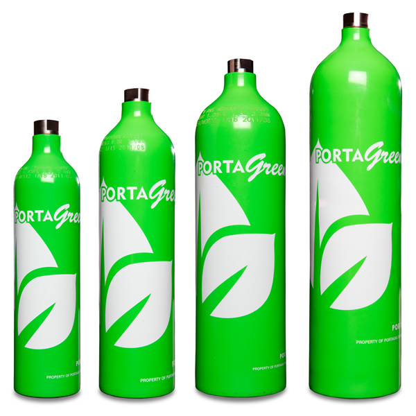 PortaGreen Calibration Gas Cylinders