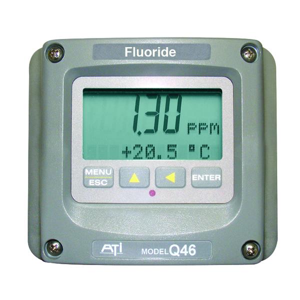 Model Q46F/82 Direct Fluoride Monitor