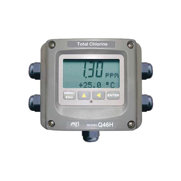 Model Q46H/79S Total Chlorine Monitor
