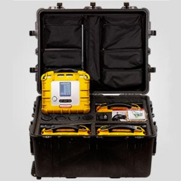 AreaRae Plus Rapid Deployment Kit - Carbon Dioxide Detectors, Chlorine Gas Detectors, Ammonia Gas Detectors