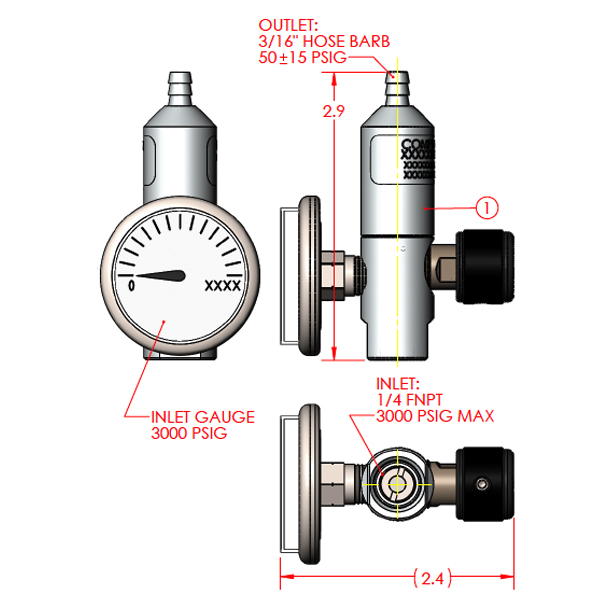 Constant Flow Regulator c-10