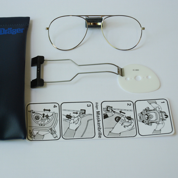 Spectacle Kit for Draeger Respirator Masks Image