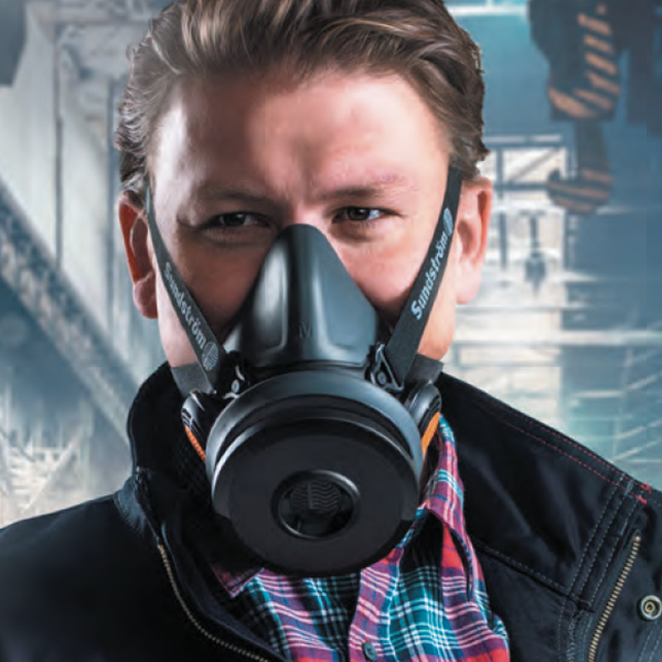 SR900 Customizeable Half mask respirator system