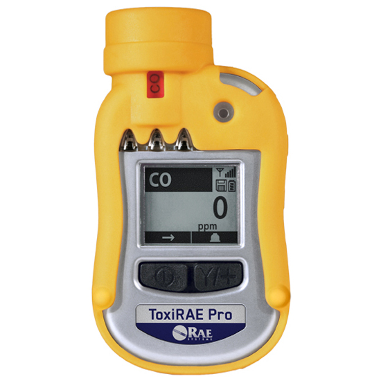 ToxiRae Pro Wireless Single Gas Detector for Toxic Gases