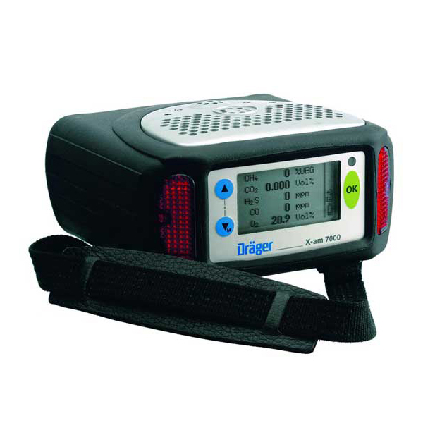 Draeger Safety X-am 7000 Combustible Gas Detector With PID Image